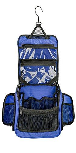 Neatpack Medium Size Hanging Nylon Toiletry Bag   Organizer with Detachable  TSA Compliant Zipper Pocket and Swivel Style Hook. SunKni Portable ... fe6777168011e