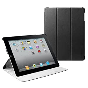 MiniSuit Microfiber Slim Jacket Multi-Angle Case for iPad 2 3 4 + Sleep/Wake + Screen Protector