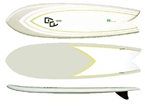 "Hammerhead II 7'4"" Epoxy Retro Fish Surfboard"