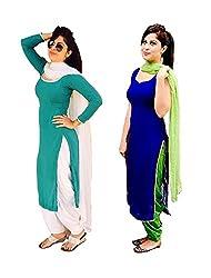Hot Mastani Kreation Combo of Two Stylish Dresses