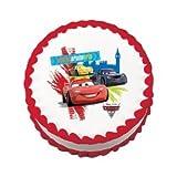 Lucks World Grand Prix Cars 2 Edible Image Cake Decoration