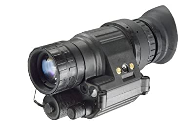 Armasight PVS14/6015 GEN 2+ ID Multi-Purpose Improved Definition 47-54 lp/mm Night Vision Monocular, Black