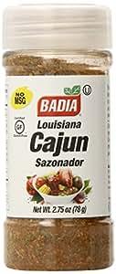 Badia Seasoning Louisiana Cajun (Sazonador), 2.75-Ounce Containers (Pack of 12)