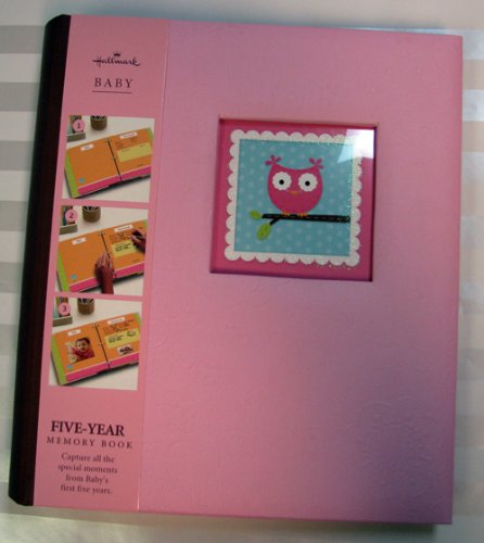Hallmark Baby BBA7006 Owl Five Year Album Girl