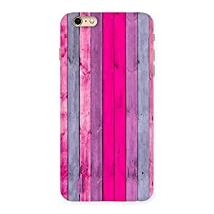 Pink Wall Multicolor Back Case Cover for iPhone 6 Plus 6S Plus