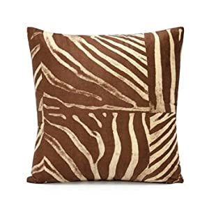 Brown Microfiber Throw Pillows : Amazon.com - 18