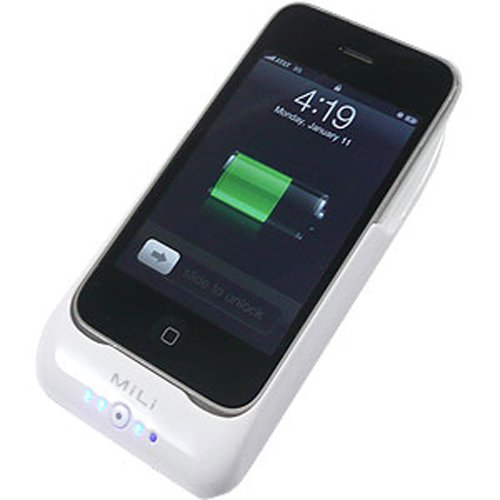 PhoneSuit MiLi Power Pack for iPhone iPhone 3G 3GS White-White