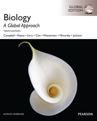 Biology: a global approach (Pearson global edition)