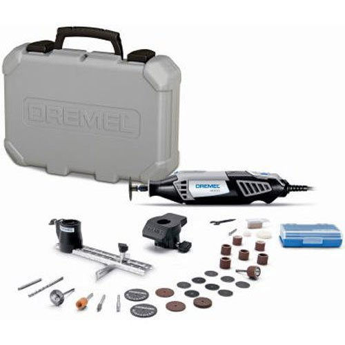 Dremel 4000-2/30 120-Volt Variable Speed Rotary Tool Kit - Corded (Color: black, Tamaño: full size)
