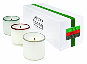 LAFCO Set of 3 Holiday Candles