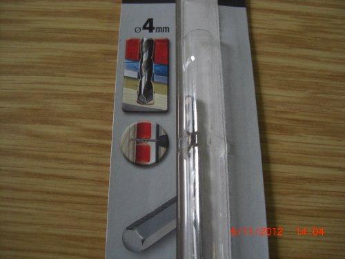 1 Stück Steinbohrer für verschiedene Materialien, 4 mm, Black&Decker, Piranha