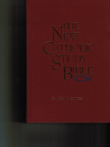 New Catholic Study Bible St. Jerome Edition