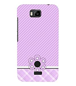 Diamond Girly Pattern 3D Hard Polycarbonate Designer Back Case Cover for Huawei Honor Bee :: Huawei Y5C