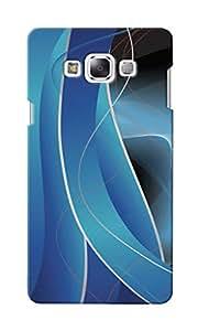 KnapCase Abstract Designer 3D Printed Case Cover For Samsung Galaxy E5