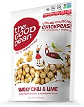 The Good Bean Smoky Chili and Lime flavor 25 Ounce Pack of 12
