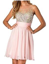 Suchergebnis auf Amazon.de für: rosa abendkleider: Bekleidung