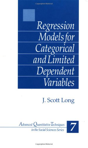 Regression Models for Categorical and Limited Dependent...