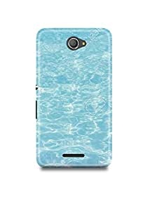 Water Texture Sony E4 Dual Case