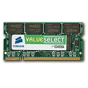 Corsair 1GB (1x1GB) DDR2 667 MHz (PC2 5300) Laptop Memory (VS1GSDS667D2)