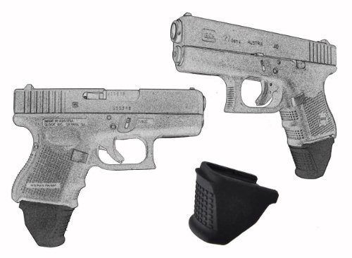 3 Pack For Glock Models 26 27 33 39 Sub Compact Extra Long Garrison Grip Extension