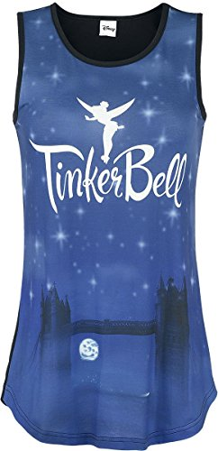 Peter Pan Tinker Bell - London's Calling Top donna multicolore XL