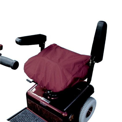 Scooter Seat Cover - Waterproof - in Burgundy