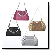 Pack of 12 Fashion Purses with Rhinestones Christmas Ornaments 3