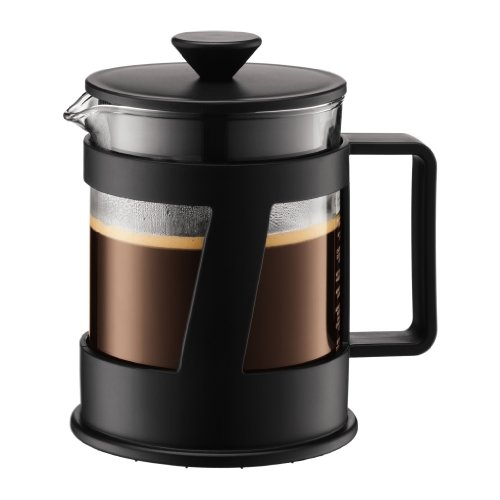 Bodum Crema 4-Cup French Press Coffee Maker, 17-Ounce