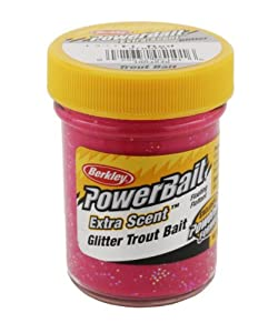 Berkley Powerbait Extra Scent Glitter Trout Bait from Pure Fishing