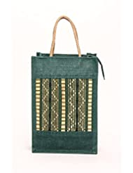 Hs Jutecraft Handbag (TBB-G01_Green)