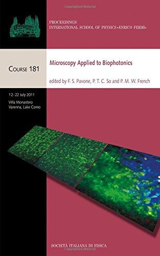 Microscopy Applied to Biophotonics: Proceedings of the International School of Physics