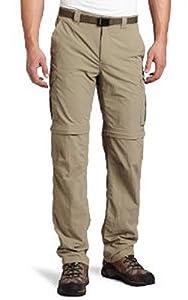Columbia Men's Silver Ridge Convertible Pant (Extended), Tusk, 50X34