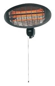 Prem-i-air Wall Mounted Quartz Patio Heater