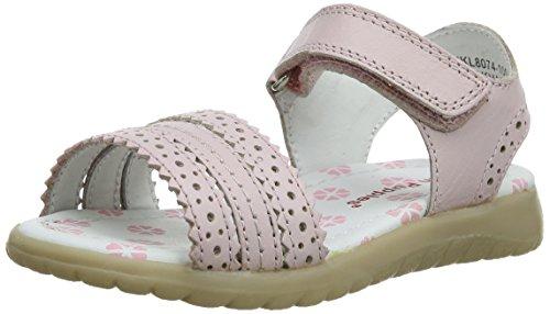 Hush Puppies - Oakham, sandali  per bambine e ragazze, Rosa (Pink (Light Pink)), 20