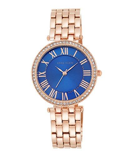 anne-klein-mujer-pulsera-de-aleacion-de-reloj-de-cuarzo-con-esfera-analogica-azul-pantalla-y-rose-go