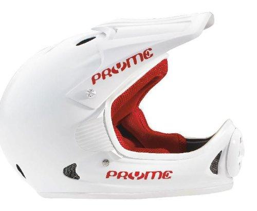 Pryme-US-Full-Face-Helmet-LGXL-57-62cm-Gloss-WhiteWhite-Trim