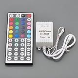 Mando a distancia IR para control de iluminación LED (44 botones, para guirnaldas RGB)