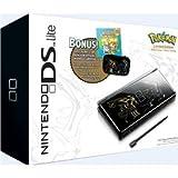 【輸入版 】Nintendo DS lite 本体 Limited Edition Pokemon Pack  【北米版】  ポケモン「ディアルガ・パルキアエディション」(限定カラー:メタリックブラック)