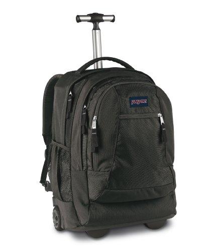 Jansport Driver 8 series- 2 Wheeled Backpack, Black