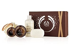 The Body Shop Shower Scrub and Soften Collection, Coconut