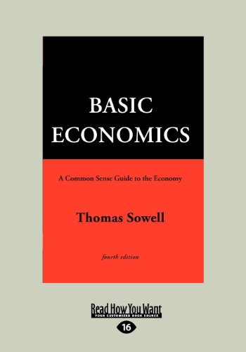 Basic Economics 4th Ed, Vol 2 (Large Print 16pt)