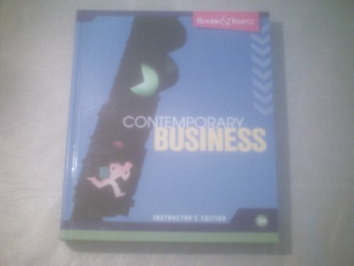 Contemporary Business Instructor's Edition, 13th edition