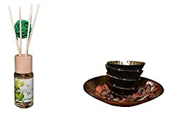 R53 Reed Diffuser Set Jasmine Refreshing Scents with sticks