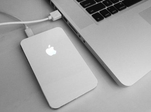 iHDD HDDケース+ iHUB3セット Apple★ホワイト
