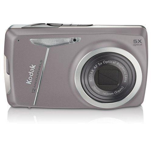 Kodak EasyShare M550 12 MP Digital Camera with 5x Wide Angle Optical Zoom and 2.7 Inch LCD (Purple)