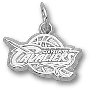 Logoart Cleveland Cavaliers 3 8 Sterling Silver Charm by Logo Art