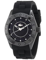 Lacoste Biarritz Black Dial Black Ceramice Ladies Watch 2000673