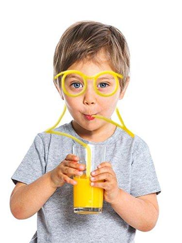 Trinkbrille / Strohhlambrille für jung & alt – Scherzartikel online bestellen