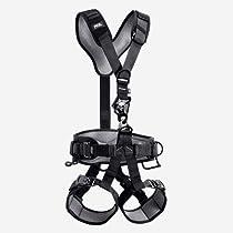 Petzl Pro Navaho Bod Croll Fast ANSI Work Positioning Harness - Black Size 2
