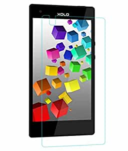 SNOOGG Pack 10 Xolo CUBE 5.0Full Body Tempered Glass Screen Protector [ Full Body Edge to Edge ] [ Anti Scratch ] [ 2.5D Round Edge] [HD View] - White